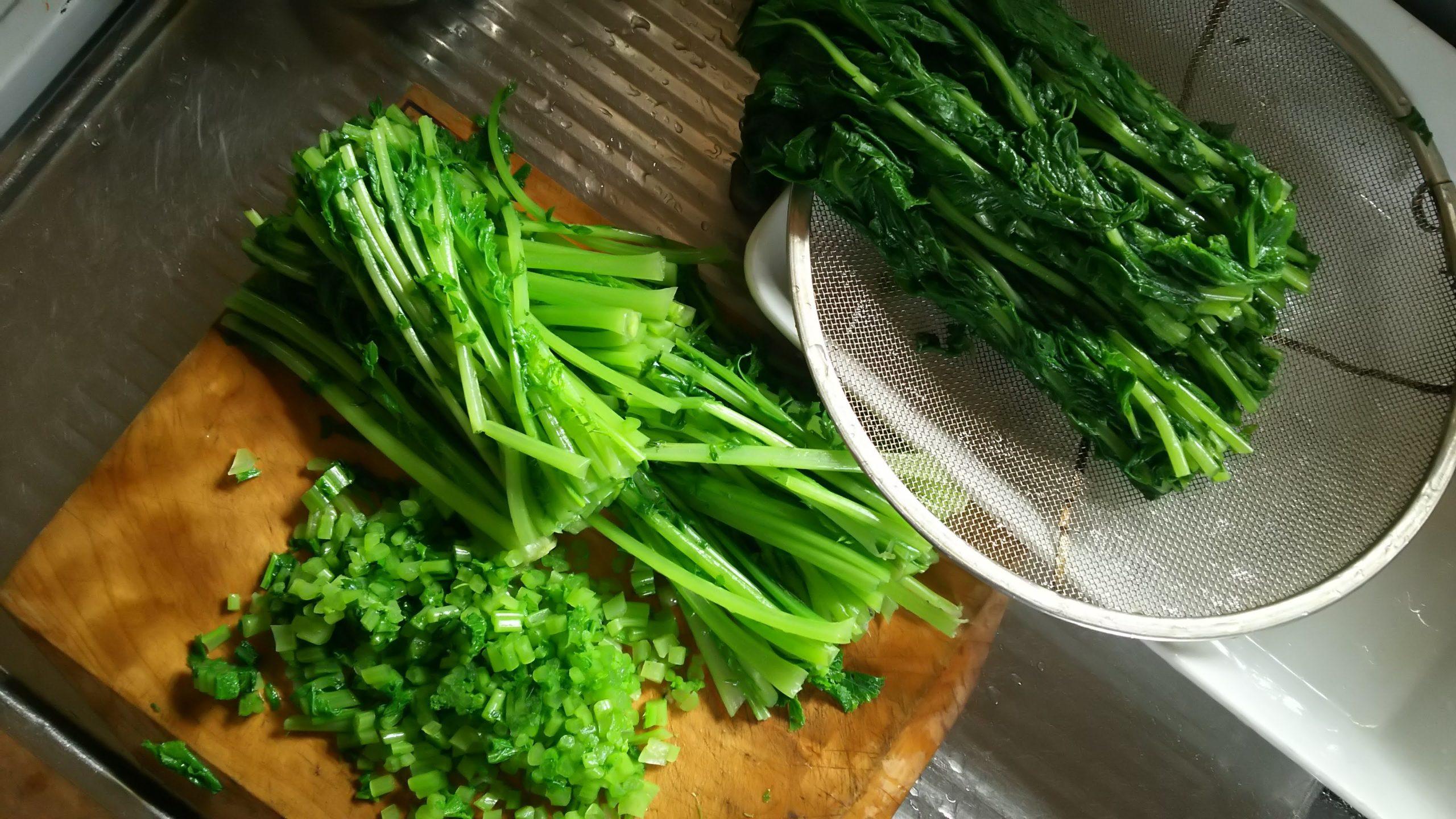 【レシピ】菜飯